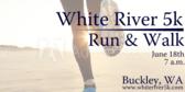 Annual White River 5k Run & Walk