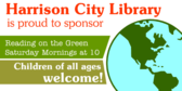 City Library Is Proud To Sponsor