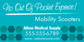 No Out of Pocket Expense