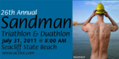 Annual Sandman Triathlon Duathlon