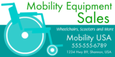 Mobility Equipment Sale