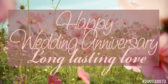Happy Wedding Anniversary Your Message Here