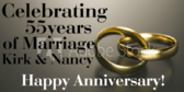 Celebrating 55 Years Of Marriage