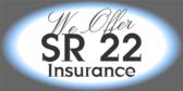 sr 22 insurance signs