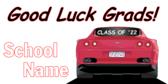 Graduates Good Luck Banner
