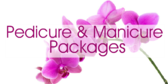 Pedicure and Manicure Packages