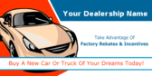 buy a new car or truck of your dreams today!