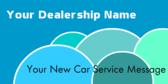 Dealership New Car Service Message
