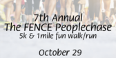 The Fence People Annual 5k & 1 Mile Fun Walk