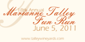 Annual Marianne Talley Memorial Fun Run