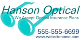 We Accept Optical Insurance Plans