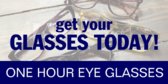 Get Your Glasses Today