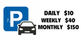 Daily Weekly Monthly Parking