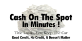 Cash On The Spot In Minutes