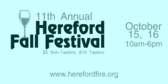 Hereford Fall Festival