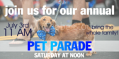 Annual Pet Parade