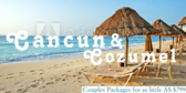 Cancun And Cozumel Couples Packages