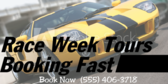 Race Week Tours Booking Fast