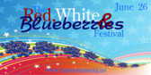 The Red, White & Bluberries Festival
