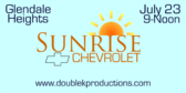 Annual Sunrise Chevrolet Car Show