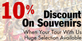 Discount On Souvenirs