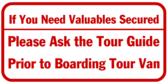 Tour Valuables