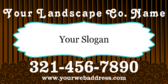 Your Landscape Company Slogan