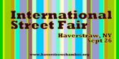 Annual International Street Fair