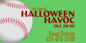 Annual Halloween Havoc