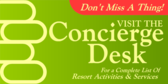 Plan with the Concierge