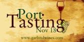 Port Tasting
