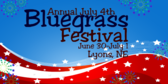 July 4th Bluegrass Festival