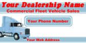Commercial Fleet Vehicle Sales