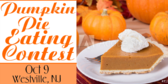 Pumpkin Pie Eating Contest