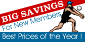 Big Savings For New Members
