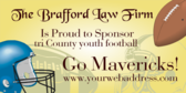 Law Firm Proud to Sponsor Youth Football
