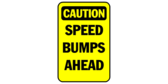 CAUTION: Speed Bumps Ahead