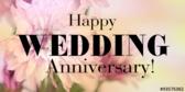 Happy Wedding Anniversary in Pink