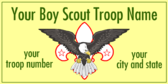 Your Boy Scout Troop Name