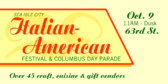 Italian-American Festival and Columbus Day Parade