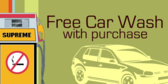 Free Car Wash With Purchase