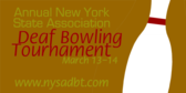 Annual Deaf Bowling Tournament