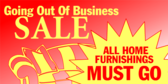 Out Of Business Sale Event