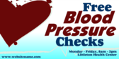 Free Blood Pressure Check