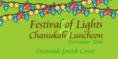 Annual Festival of Lights Chanukah Luncheon