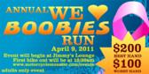 Annual We <3 Boobies Run