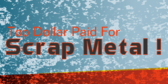 Top Dollar Paid For Scrap Metal