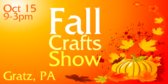 Annual Fall Crafts Show