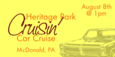 Annual Cruisin at Heritage Park Car Cruise