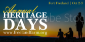 Annual Fort Heritage Days